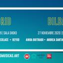 Cartel Más Músicas Bilbao 2020