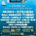 Cartel Chanquete World Music Festival 2017