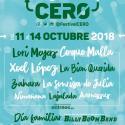 Cartel Festival Cero 2018