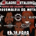 Cartel Milagre Metaleiro (Assembleia Do Metal) 2020