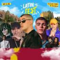 Cartel Latin Fest Valencia 2019