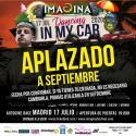 Cartel Imagina Dancing In My Car Madrid 2020