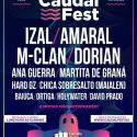 Cartel As Noites de Caudal Fest 2020