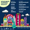 Cartel Benidorm Summer Nights 2020