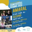 Cartel Conciertos de verano del Auditorio Ponferrada 2020