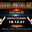 Cartel Euskal Metal Fest 2021