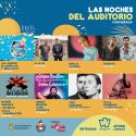 Cartel Las Noches Del Auditorio de Ponferrada 2021