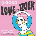 Cartel Love To Rock 2021 (Valencia)