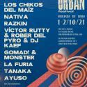 Cartel Miranda Urban Festival 2021