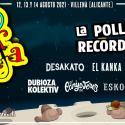 Cartel Rabolagartija Festival 2021