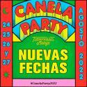 Cartel CanelaParty 2022