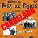 Cartel Festival Fosa de Frikis (edición artistas veteranos) 2019