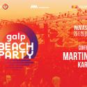 Cartel Galp Beach Party 2021
