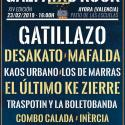 Cartel Gazpatxo Rock 2019