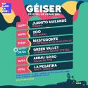 Cartel Géiser Festival de Primavera 2021