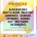 Cartel Más Músicas Madrid 2019 (junio)