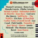 Cartel Festival de la Porta Ferrada 2019