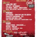 Cartel Super Bock Super Rock 2019