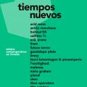 Cartel Tiempos Nuevos Oviedo 2020