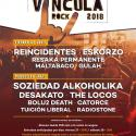 Cartel Víncula Rock 2018