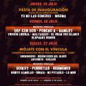 Cartel Víncula Rock 2019