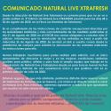 Cartel Natural Live Festival Xtrafresh 2020