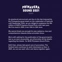 Cartel NOS Primavera Sound 2020