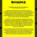 Cartel Rocanrola Benidorm 2020
