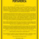 Cartel PortAmérica 2020