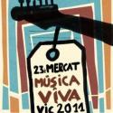 Cartel Mercat Música Viva de Vic 2011