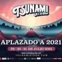 Cartel Tsunami Xixón Festival 2020
