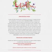 Comunicado aplazamiento Leturalma 2021