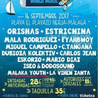Cartel Chanquete World Music Festival 2017