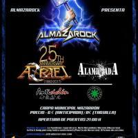Cartel Almazarock 2017