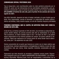 Cartel FiestoRon 2020