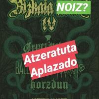 Cartel Bizkaia Noise 2020