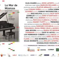 Cartel La Mar de Músicas 2019