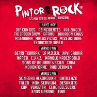 Cartel PintorRock 2018