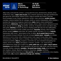 Cartel Sónar 2019