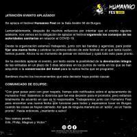 Cartel Humanno Fest 2020