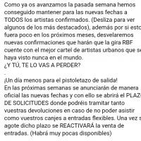 Comunicado RBF Santander