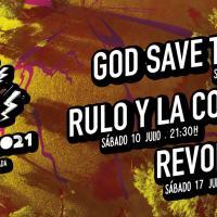 Cartel Las noches de RockLand Art Fest 2021