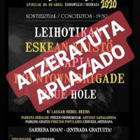 Cartel SaratxoRock 2019