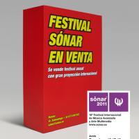 Sónar Barcelona 2011_Cartel