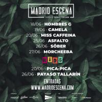 Cartel Madrid Escena 2021