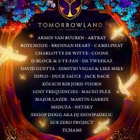 Cartel Tomorrowland 31.12.2020