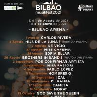 Cartel Bilbao Musikfest 2021