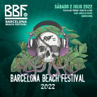 Cartel BBF Barcelona Beach Festival 2022