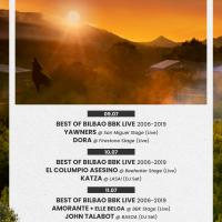 Cartel Bilbao BBK Live UDA 2020