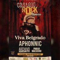 Cartel Castelo Rock 'Expresso' 2021